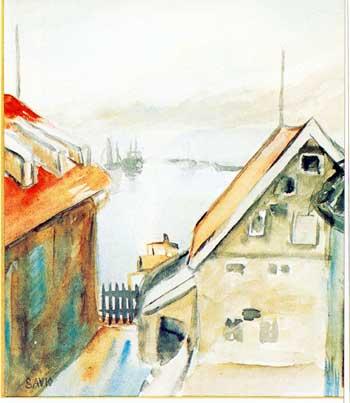 Fra Tromsø havn - John Andreas Savio