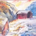 Høgfjellstun - John Andreas Savio