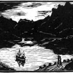 Kveld ved Osan - Svolvær - John Andreas Savio