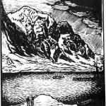Landskap ved Svolvær - John Andreas Savio