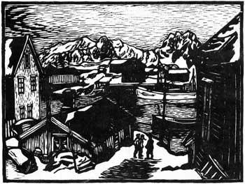 Øen Lillemolla - John Andreas Savio