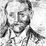 Ordføreren (tegning) - John Andreas Savio