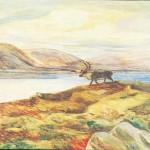 Rein - Okta (olje på plate) - John Andreas Savio
